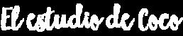 Imagen logo blanco El estudio de Coco