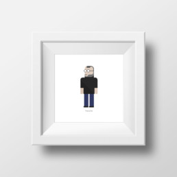 Cuadro Steve Jobs