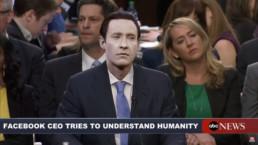 Zuckerberg en el senado