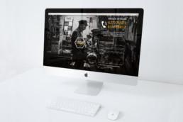 diseño de página web one page